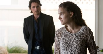 Christian Bale and Natalie Portman in a scene from Knight of Cups