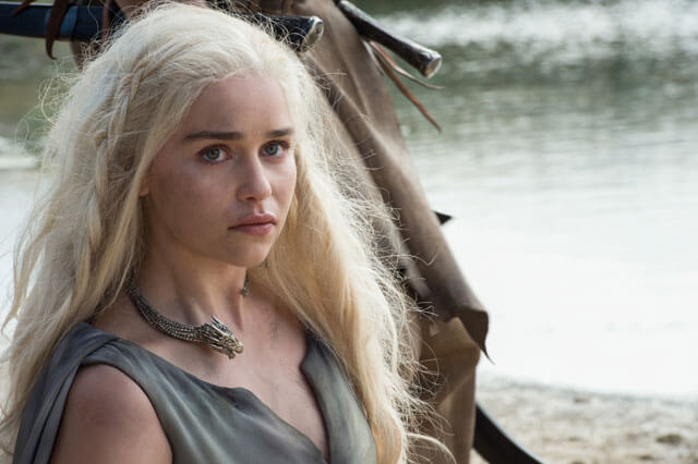 Emilia Clarke in Game of Thrones Season 6