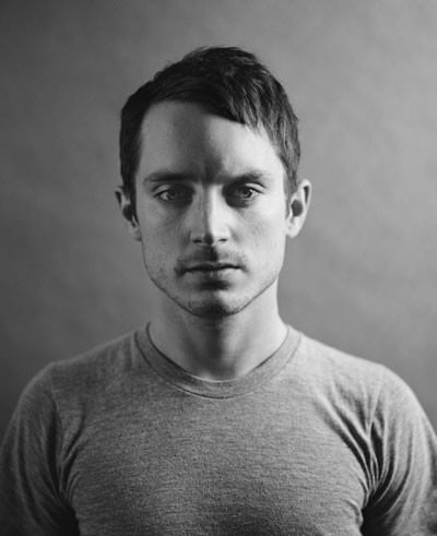 Elijah Wood Black and White photo