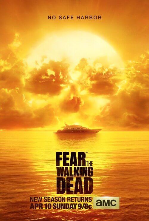 Poster for Fear the Walking Dead Season 2