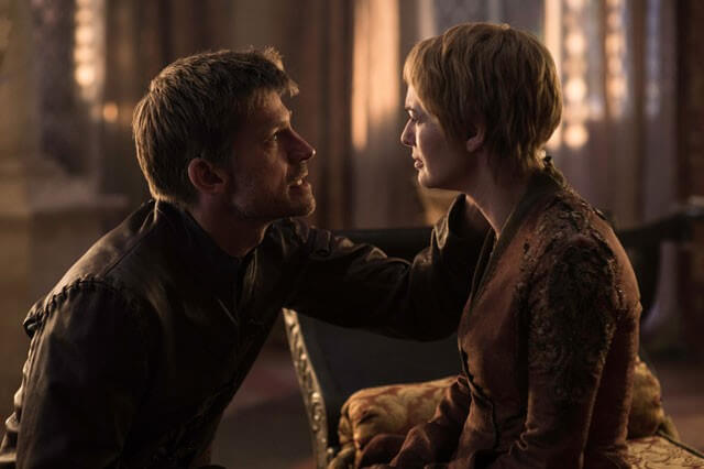 Game of Thrones Season 6 Lena Headey and Nikolaj Coster Waldau