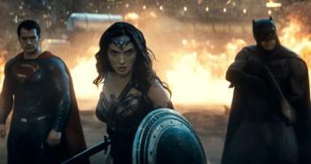 Henry Cavill, Gal Gadot, Ben Affleck in Batman v Superman