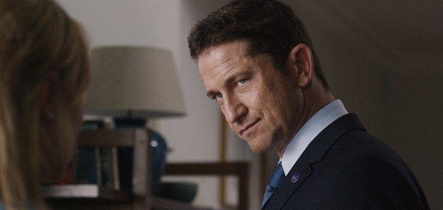 Gerard Butler Closeup from London Has Fallen