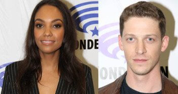 Lyndie Greenwood and Zach Appelman at WonderCon