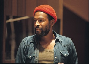 Marvin Gaye in a Red Beanie