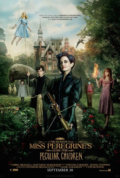 Poster for 'Miss Peregrine's Home for Peculiar Children'