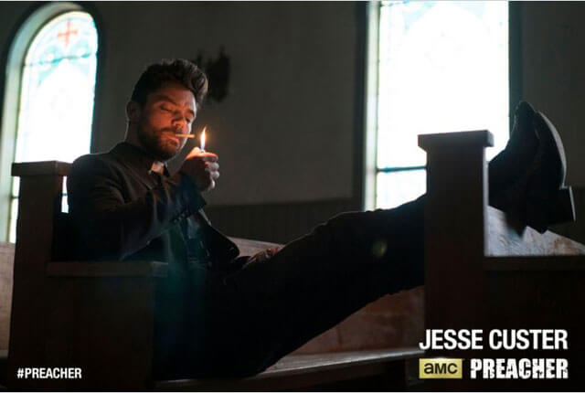 Preacher Jesse Custer Poster with Dominic Cooper