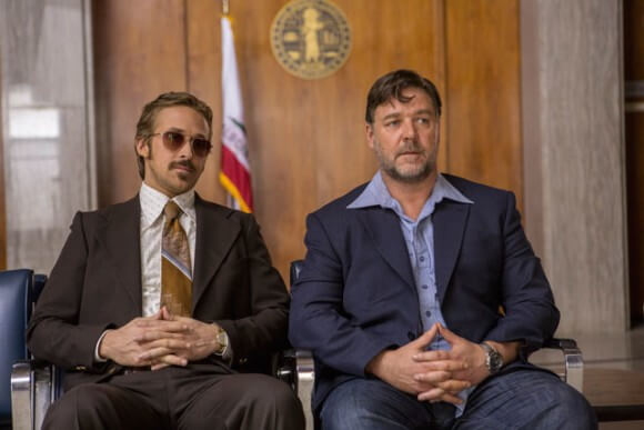 The Nice Guys stars Ryan Gosling and Russell Crowe
