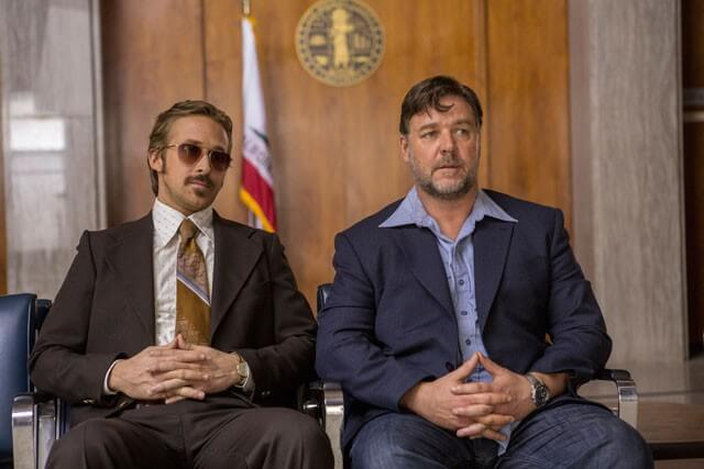The Nice Guys Ryan Gosling and Russell Crowe