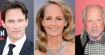 Stephen Moyer, Helen Hunt and Richard Dreyfuss
