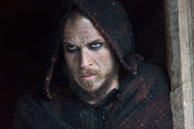 Gustaf Skarsgard in Vikings Season 4 Episode 4