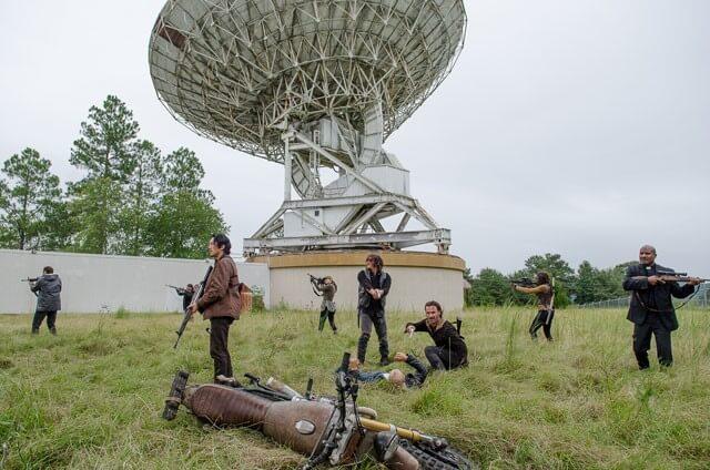 Walking Dead Season 6 Episode 12 Group Photo