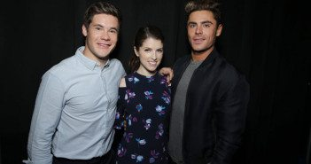Adam DeVine, Anna Kendrick, Zac Efron CinemaCon 2016