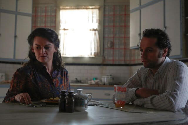 Americans Alison Wright and Matthew Rhys