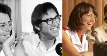 Billie Jean King, Bobby Riggs, Emma Stone, Steve Carell