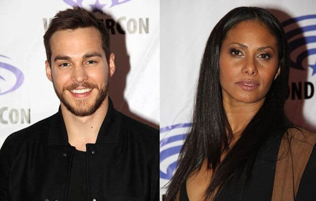 Chris Wood and Christina Moses from Containment at WonderCon