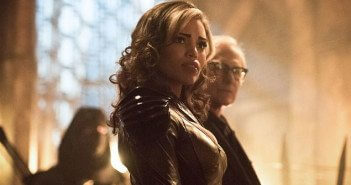 Ciara Renee and Victor Garber in Legends of Tomorrow