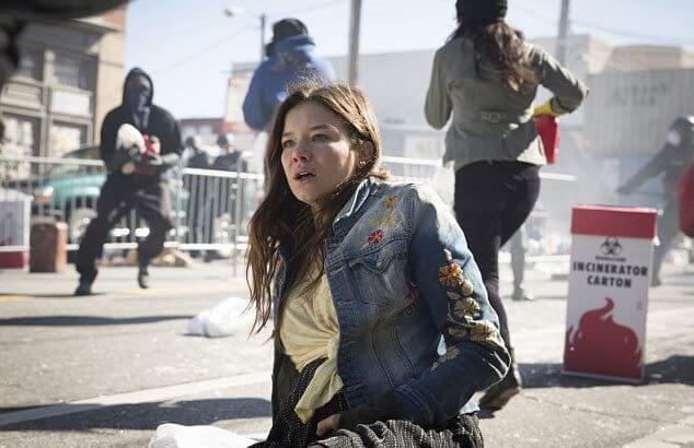 Containment star Hanna Mangan Lawrence