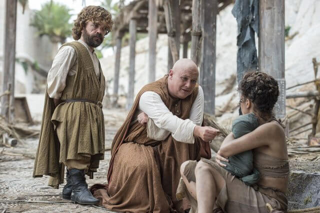 Game of Thrones Season 6 Peter Dinklage and Conleth Hill
