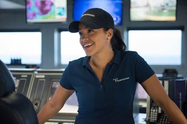 Gina Rodriguez in Deepwater Horizon