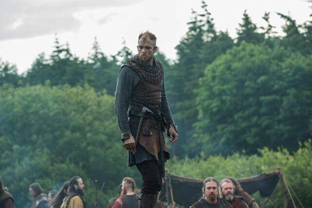 Gustaf Skarsgard in Vikings Season 4