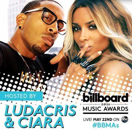 Ludacris and Ciara host Billboard Music Awards