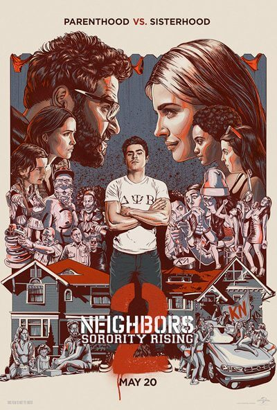 Neighbors 2 Poster