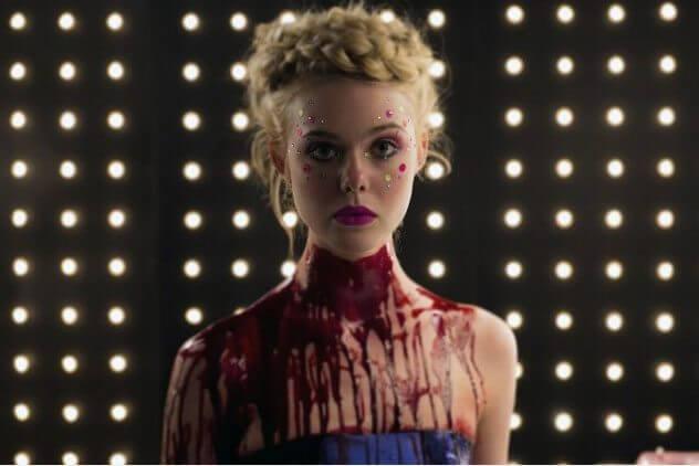 Elle Fanning in 'The Neon Demon'