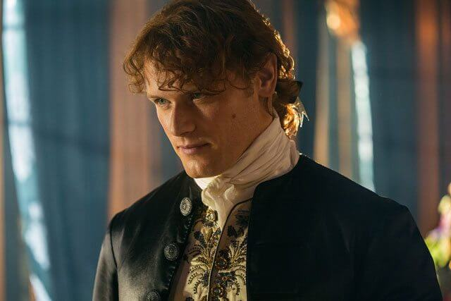 Sam Heughan in Outlander season 2 episode 4