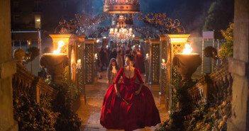 Outlander Season 2 Episode 2 Caitriona Balfe Red Dress