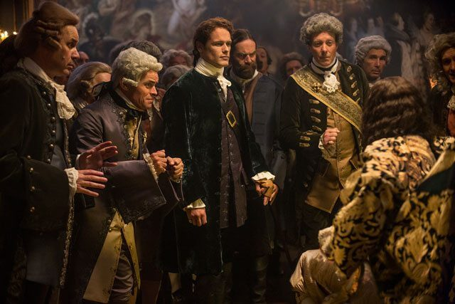 Outlander season 2 episode 2 Sam Heughan