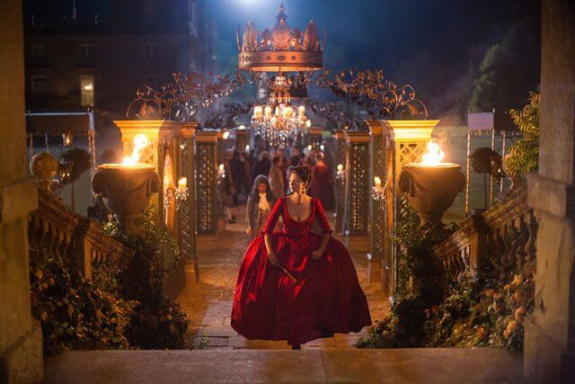 Outlander Season 2 Episode 2 Caitriona Balfe Red Dress