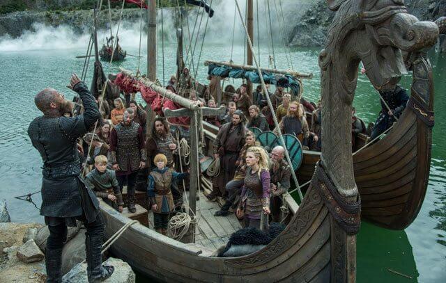 Travis Fimmel in Vikings Season 4 Episode 8