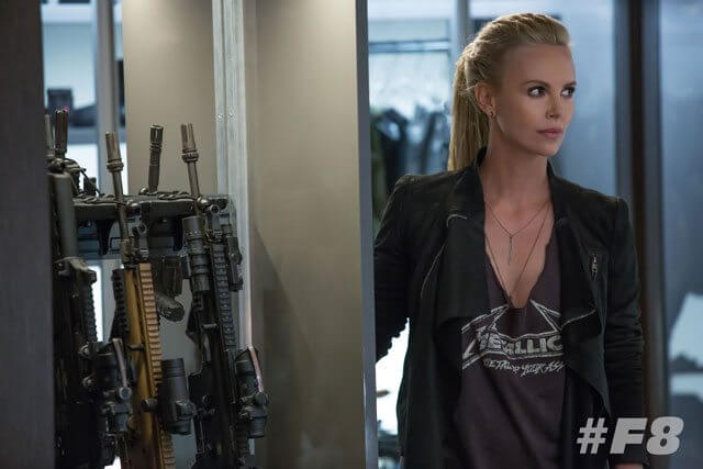 Charlize Theron in Fast 8