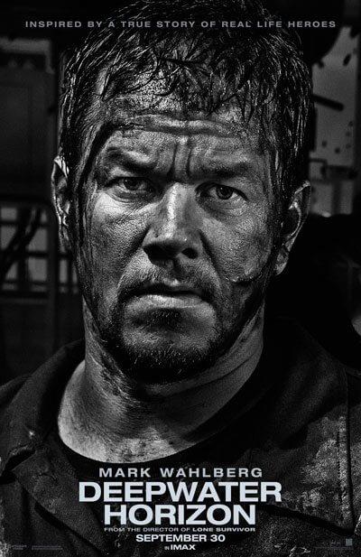 Deepwater Horizon Mark Wahlberg Poster