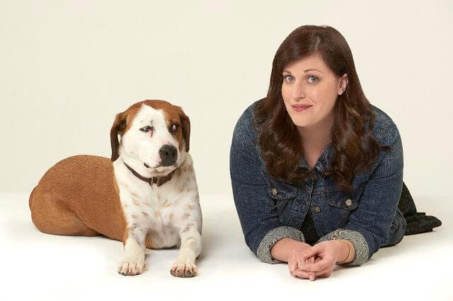 Allison Tolman Downward Dog