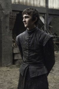 Isaac Hempstead Wright in 'Game of Thrones' (Photo: Helen Sloan/courtesy of HBO)