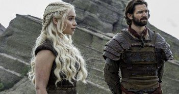 Game of Thrones Season 6 Episode 5 Emilia Clarke and Michiel Huisman