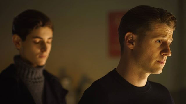 Gotham Ben McKenzie and David Mazouz
