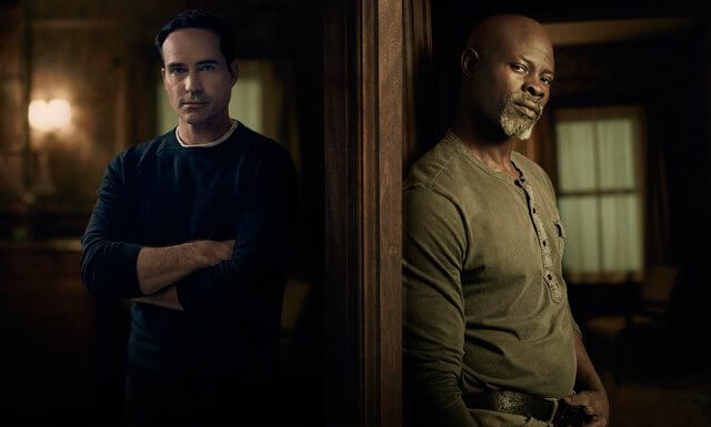 Wayward Pines Jason Patric Djimon Hounsou