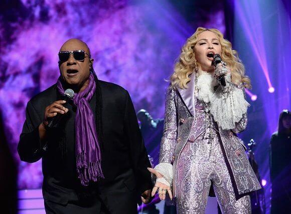 Stevie Wonder and Madonna Billboard Music Awards