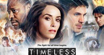 Timeless Season 1 Poster