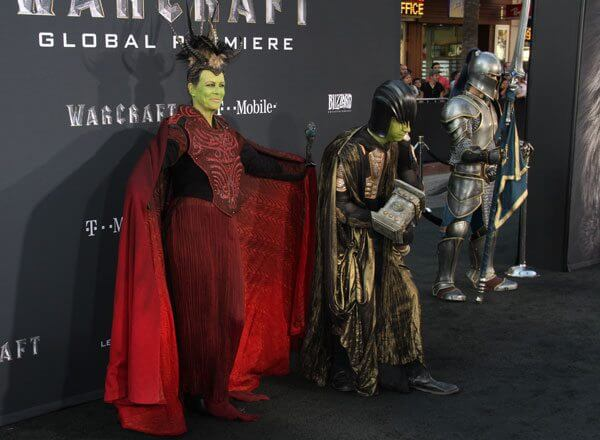 Jamie Lee Curtis and Tom Guest Warcraft Cosplay