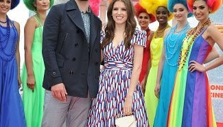 Anna Kendrick and Justin Timberlake from Trolls at Cannes