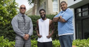 Ballers Season 2 Dwight Johnson, John David Washington, Omar Benson Miller