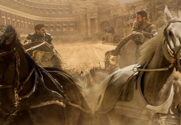 Ben Hur stars Toby Kebbell and Jack Huston