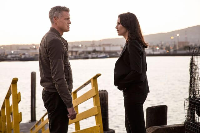 The Last Ship Season 3 Eric Dane and Bridget Regan