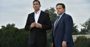 Person of Interest Season 5 Jim Caviezel and Kevin Chapman