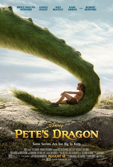 Pete's Dragon Poster and Trailer