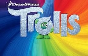 Trolls Color Poster and Trailer